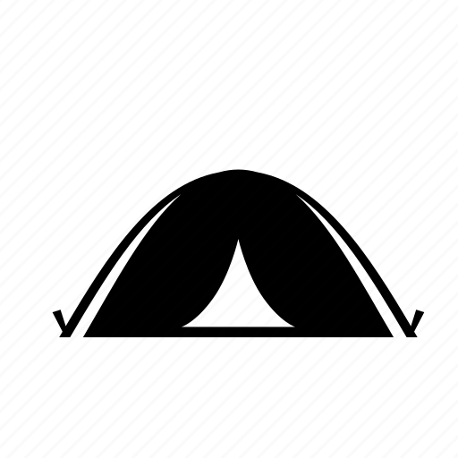 camping, mountain, sleep, tent icon