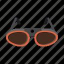 eye, light, sun, sun glasses icon
