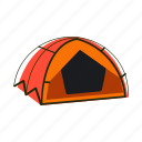 awning, camping, house, shelter, tent icon