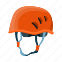 equipment, gear, hard hat, head, helmet, mountaineering, protection icon