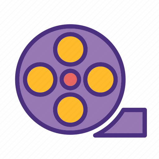 cinema, film, media, movie, roll, video icon