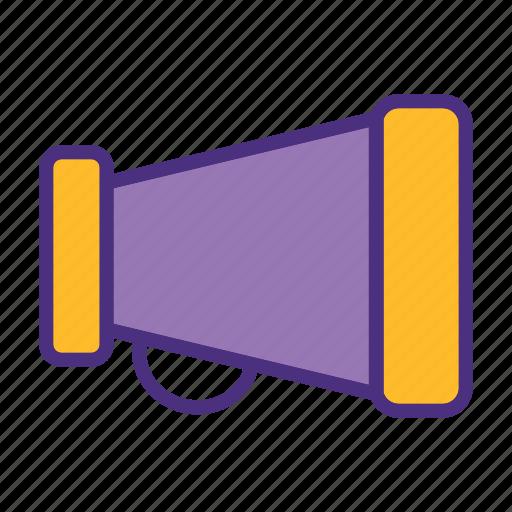 cinema, film, media, movie, sound, speaker, video icon