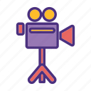 camera, cinema, film, media, movie, video, watch icon