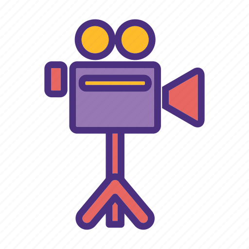 camera, cinema, film, media, movie, video, watch icon