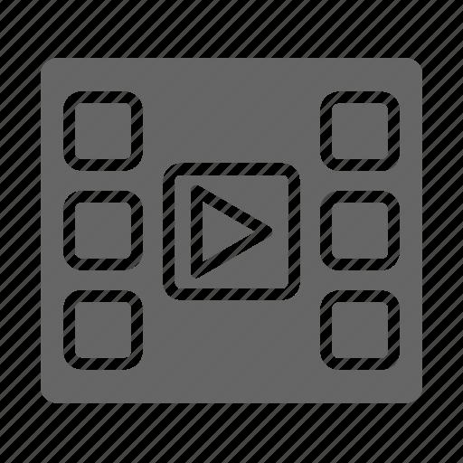 cinema, film, media, movie, play, theater, video icon