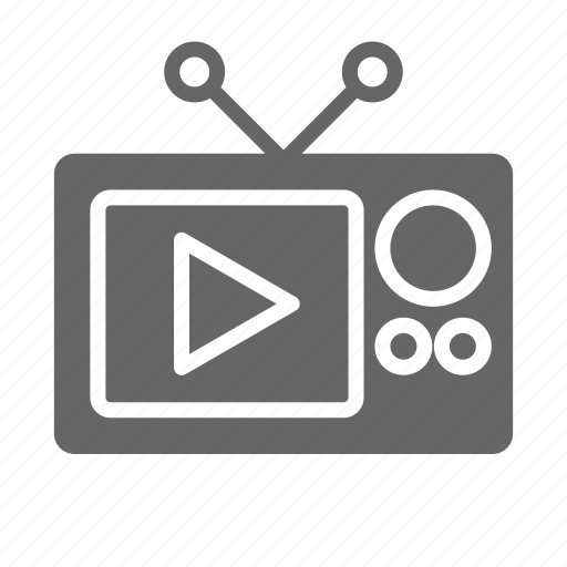cinema, film, media, movie, play, tv, video icon