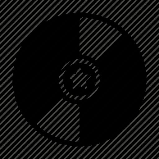cd, disc, movie, record, vinyl icon