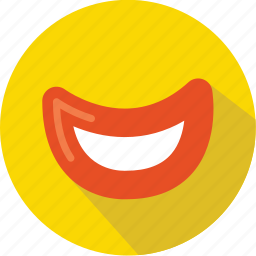 clown, comedy, emotion, laugh, mouth, movie, smile icon
