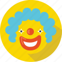 cartoon, children, clown, comedy, emotion, laugh, movie icon