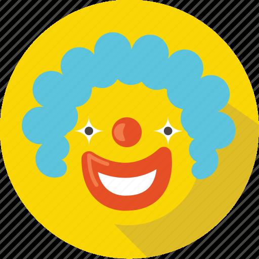 cartoon, children, clown, comedy, emotion, laugh, movie icon