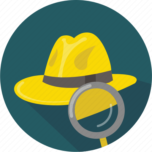 crime, detective, hat, movie, mystery, noir, officer icon