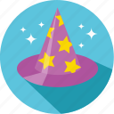 fable, fairy, fantasy, hat, magic, movie, wizard icon