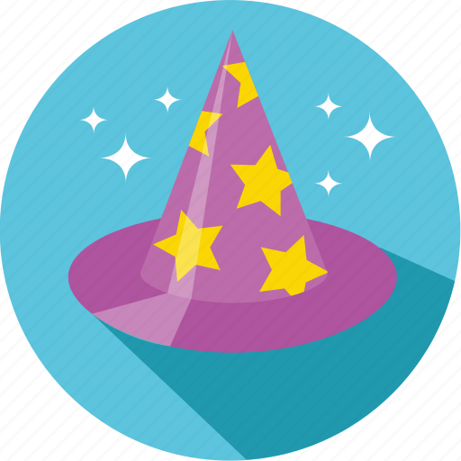 fable, fairy, fantasy, hat, magic, movie, wizard icon