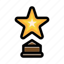 achievement, award, success, trophy, winner icon