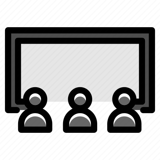 cinema, cinema screen, film, movie, screen, show, theater icon