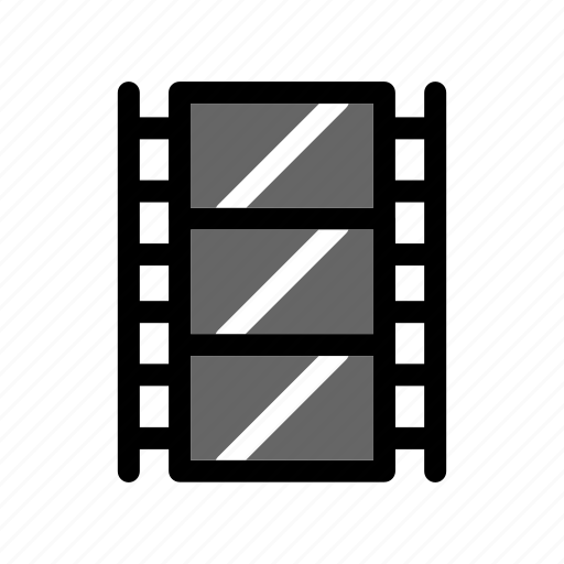 cinema, filmstrip, movie, negative, photography icon