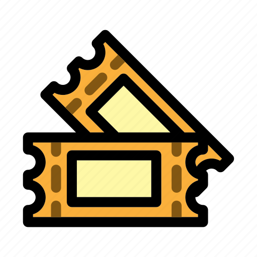 entertainment, event, movie, theater, tickets icon