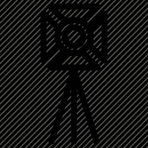 equipment, film set, light, light equipment, professional, spotlight, studio icon