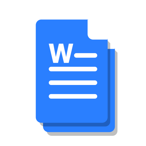 blue, copy, doc, file, ms, office, word icon