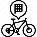bike, flag, mountain, mtb, race, racing, yumminky icon