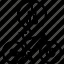bike, damping, fork, mountain, mtb, part, yumminky icon