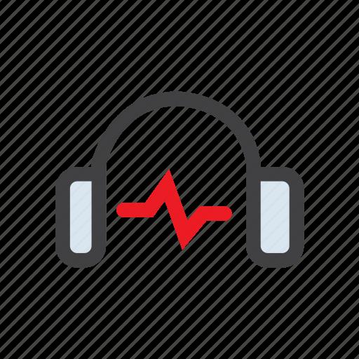 audio, headphones, music, speaker, video icon