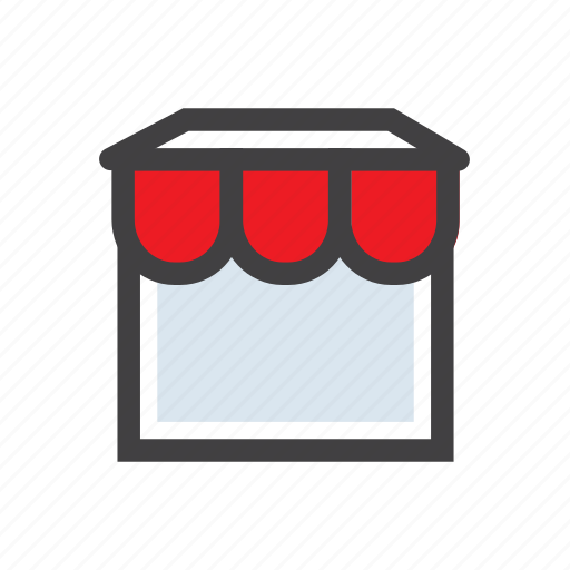 commerce, shop, shopping, stall, store icon