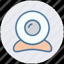 cam, camera, media, stream, video, web cam, web camer icon