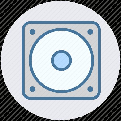 Audio, loud, multimedia, music, sound, speaker, woofer icon - Download on Iconfinder