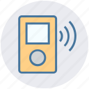 ipod, media, mp3 player, multimedia, music, music device, sound icon