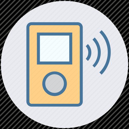 ipod, media, mp3 player, multimedia, music, music device, sound icon
