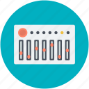 equalizer, multimedia, music preferences, sound settings, volume adjuster icon