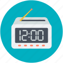 clock, digital alarm, digital clock, digital timer, timepiece icon