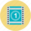 cinema, film countdown, film counter, movie countdown, movie starting icon