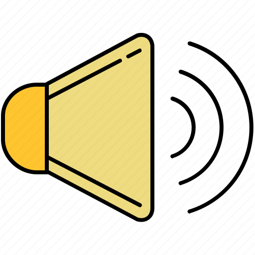 audio, high, increase, multimedia, sound, volume icon