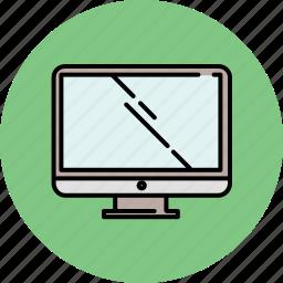 computer, multimedia, screen, technology icon