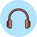 device, headphones, headset, multimedia, music, sound icon