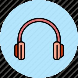 device, headphones, headset, multimedia, music, sound icon