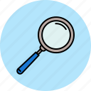 magnifier, multimedia, search icon