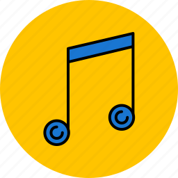 audio, multimedia, music, notes, sound icon