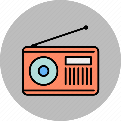 Audio, multimedia, music, radio, sound icon - Download on Iconfinder