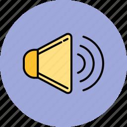 high, multimedia, sound, volume icon