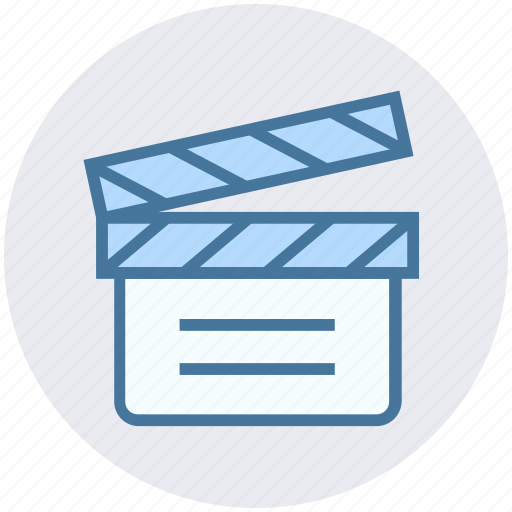 Cinema, clapboard, director, film, movie, multimedia, shooting icon - Download on Iconfinder