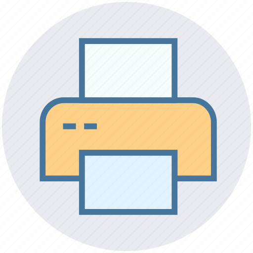 Computer, device, electronic, multimedia, paper, printer, technology icon - Download on Iconfinder