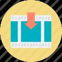 movie clip, movie collection, movie file, video clip, video file