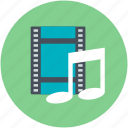 audio file, music album, music file, song, sound track icon