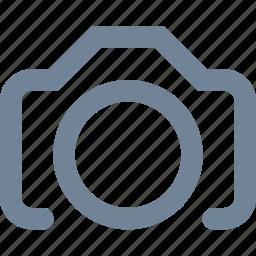 camera, line, media, multimedia, photo icon