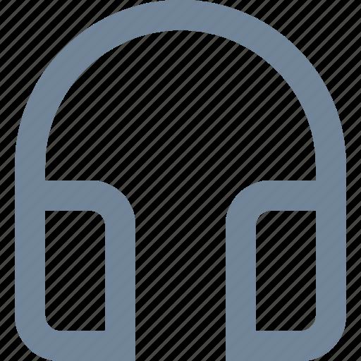 dj, equipment, headphones, line, listen, media, multimedia, music, studio icon