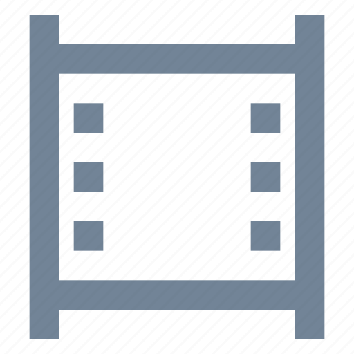 cinema, film, industry, media, movie, multimedia, strip icon