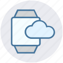 alarm, cloud, hand, storage, time, timer, watch